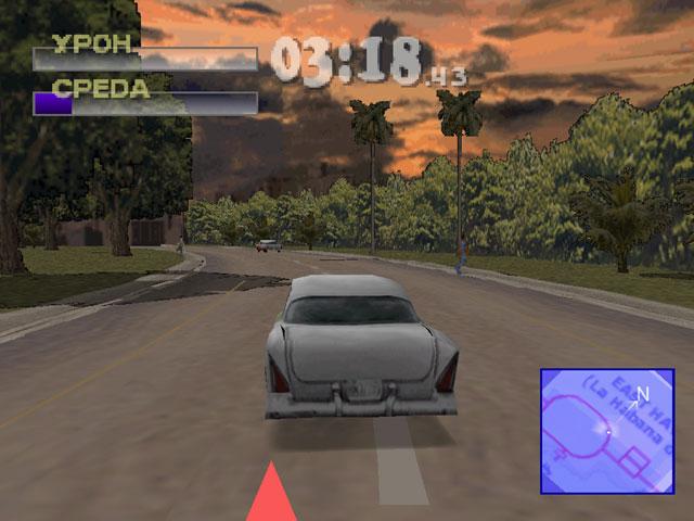Игра driver sony playstation